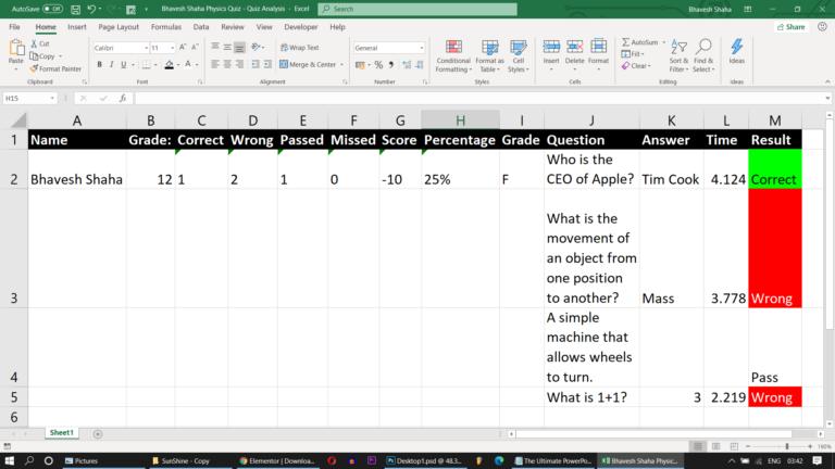 Download PowerPoint Quiz Game 5