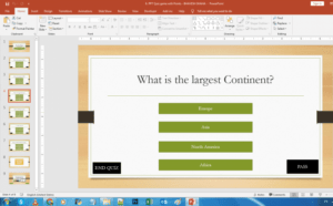 ppt quiz points score game - REPORT CARD AND PERCENTAGE - INTERACTIVE POWERPOINT QUIZ GAME