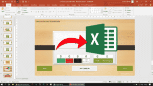 Screenshot 318 - REPORT CARD AND PERCENTAGE - INTERACTIVE POWERPOINT QUIZ GAME