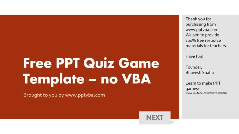 download free powerpoint quiz game template for free 1 frame design