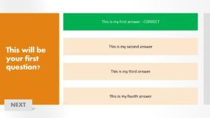 download free powerpoint quiz game template for free 1 frame design1 - How to make a quiz game in PowerPoint