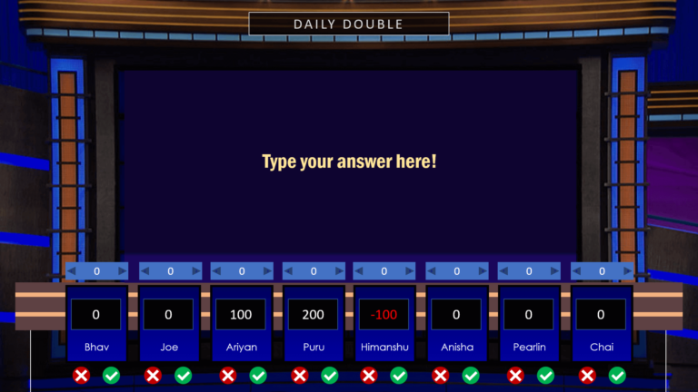 Download Jeopardy PowerPoint Game 3 - Download Jeopardy PowerPoint Template with Score Counter & Music
