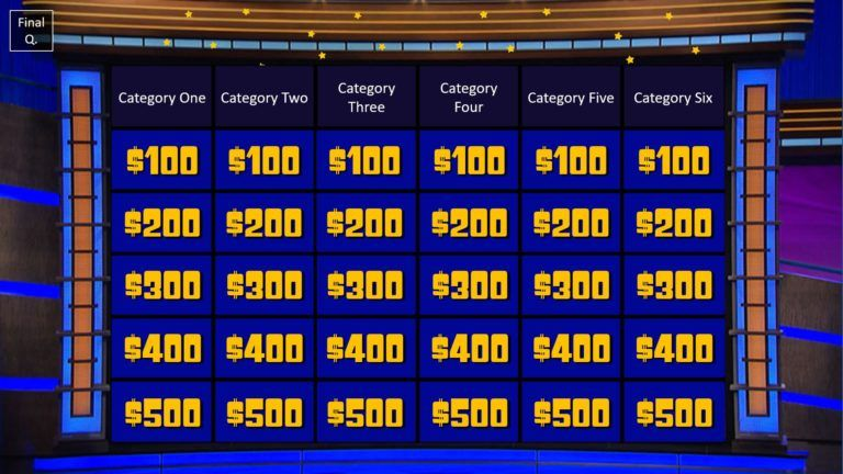 Download Jeopardy PowerPoint Game Template 3