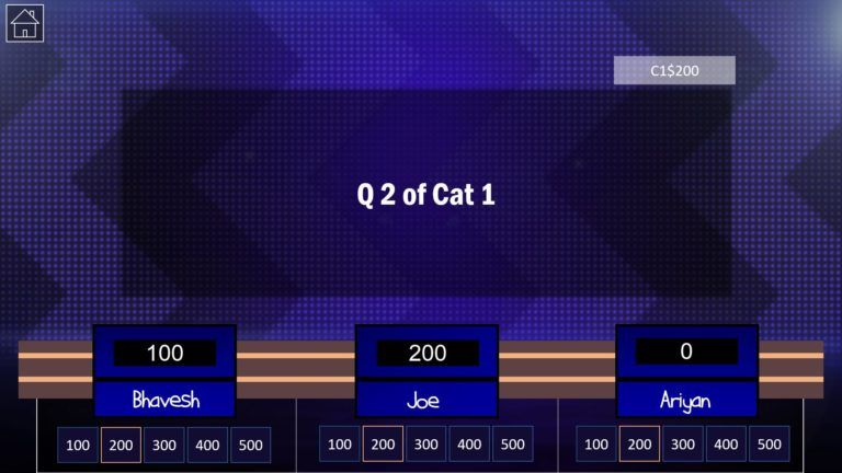 Download Jeopardy PowerPoint Game Template 6 - Download Jeopardy PowerPoint Template with Score Counter & Music