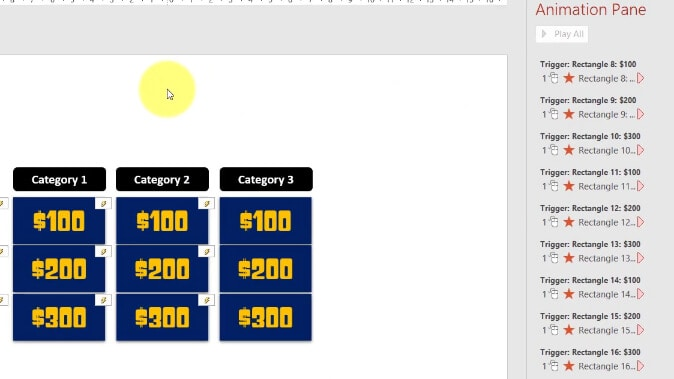 How to make Jeopardy Game in PowerPoint with ScoreBoard [Free Download PowerPoint Game Templates] 2-10 screenshot