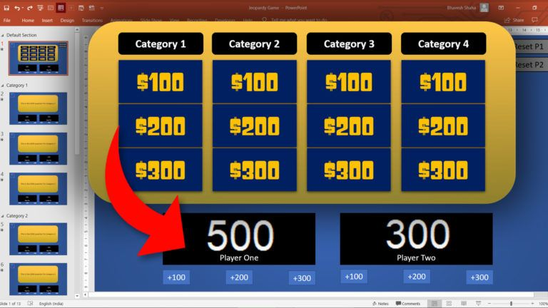 Jeopardy tut web - PowerPoint VBA Macro Modules