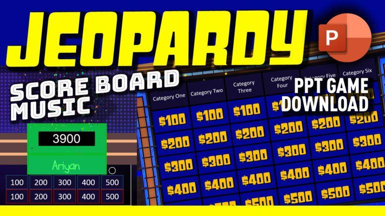 Jeopardy PowerPoint