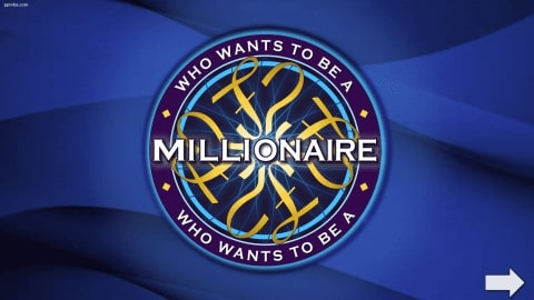 Who wants to be a millionaire Download free PowerPoint Template 1