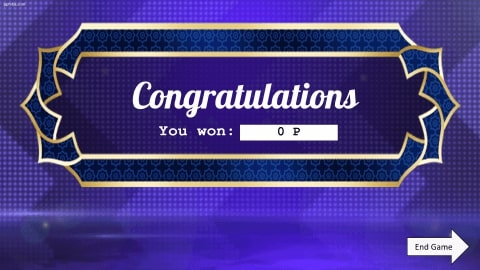 Who wants to be a millionaire Download free PowerPoint Template 5