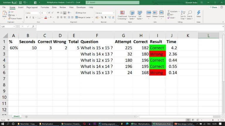 Multiplication FlashCards in PPT - PowerPoint Multiplication Game - Random Flash Card Generator
