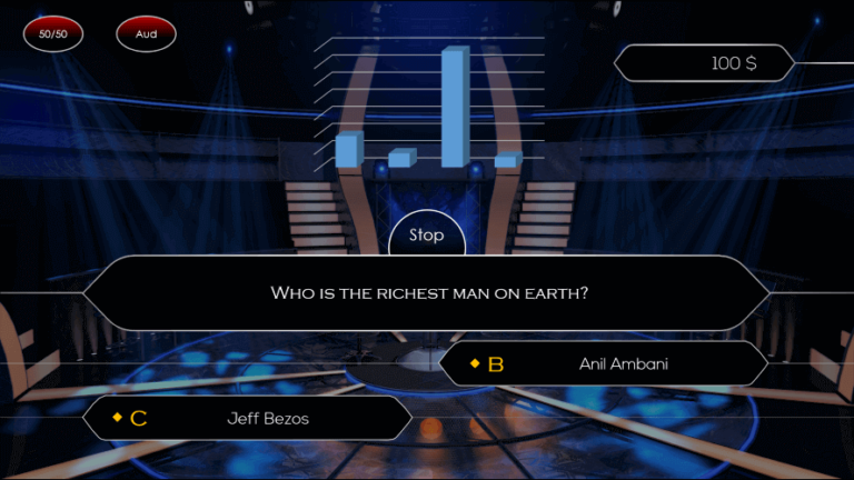 Who Wants To Be A Millionaire PowerPoint Game Template Download 3