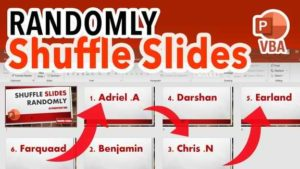 Shuffle PowerPoint Slides Randomly - How to Shuffle PowerPoint Slides in a Random Order