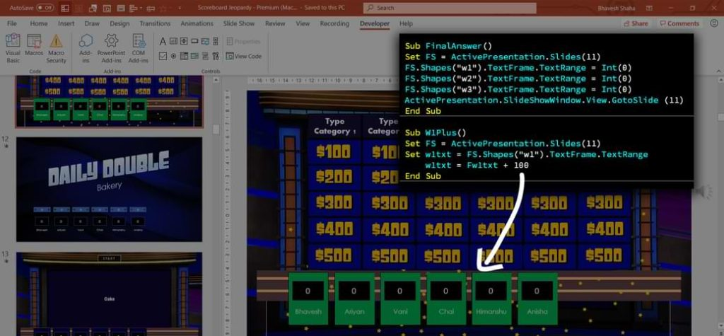 PowerPoint VBA Games - PowerPoint Visual Basic Applications