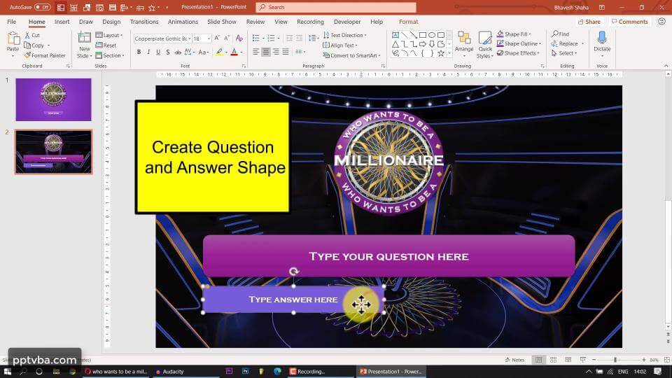 PowerPoint Game - Who Wants to Be A Millionaire 2
