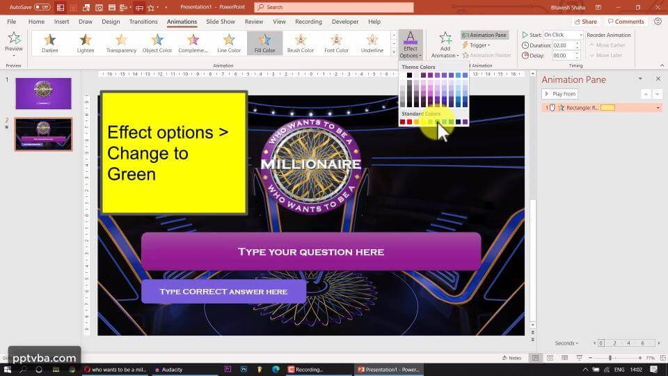 PowerPoint Game - Who Wants to Be A Millionaire 3