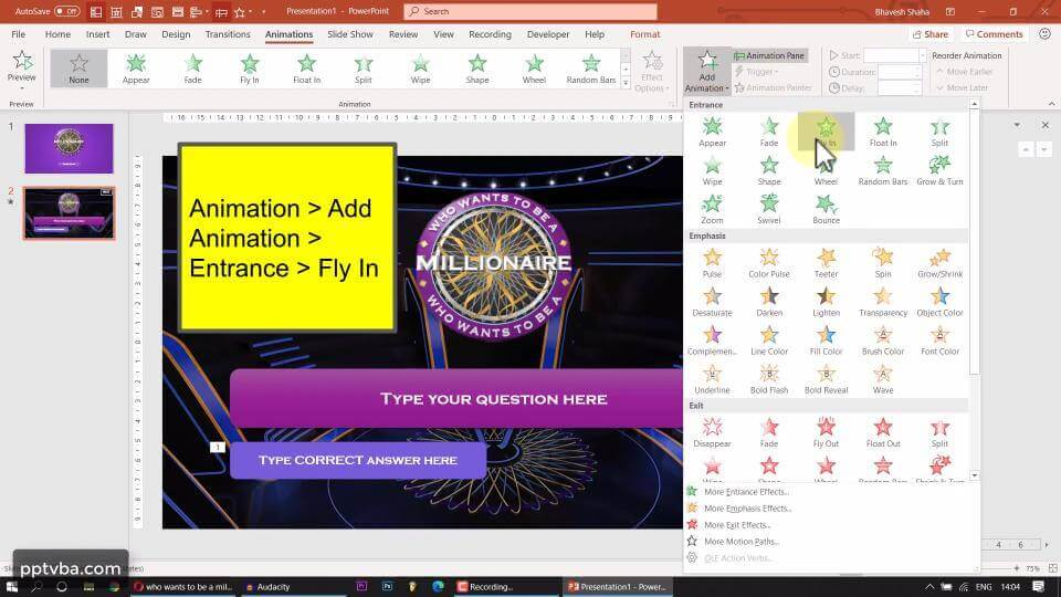 PowerPoint Game - Who Wants to Be A Millionaire 4