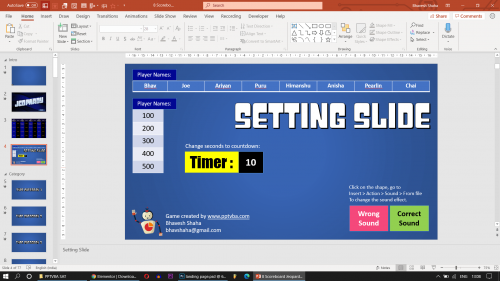 Download Jeopardy PowerPoint Game 5
