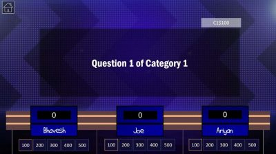 Download Jeopardy PowerPoint Game Template 4