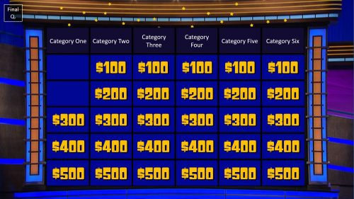 Download Jeopardy PowerPoint Game Template 5