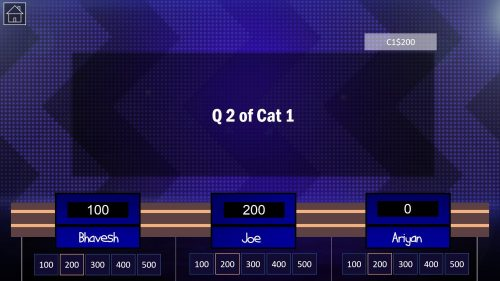 Download Jeopardy PowerPoint Game Template 6