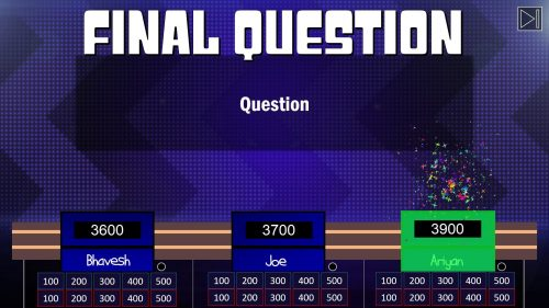 Download Jeopardy PowerPoint Game Template 7
