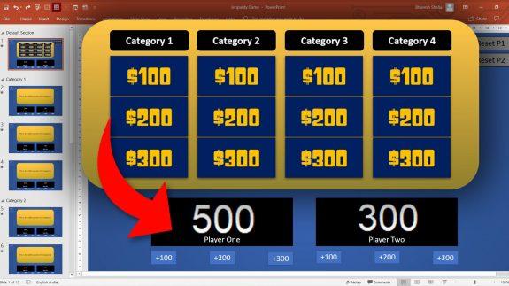 Jeopardy tut web