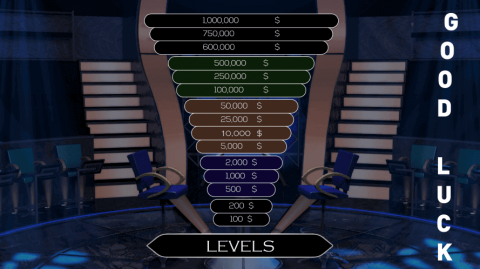 Who Wants To Be A Millionaire PowerPoint Game Template Download 2