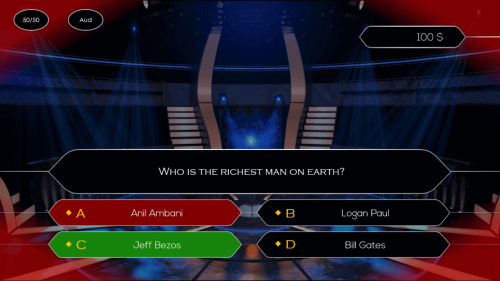 Who Wants To Be A Millionaire PowerPoint Game Template Download 4